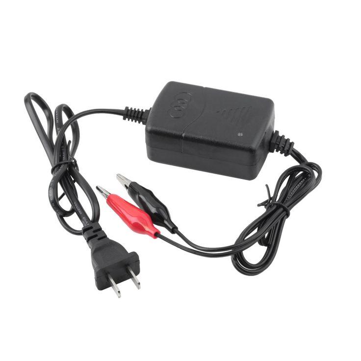 12 V Sealed Lead Acid Wiederaufladbar auto universal Batterie usb ladegerät Black & Red Wiederaufladbare Versiegelte Bleibatterie Ladegerät HEIßER #