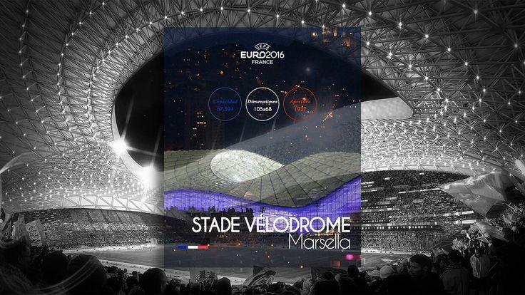 Estadios EUROCOPA Francia 2016