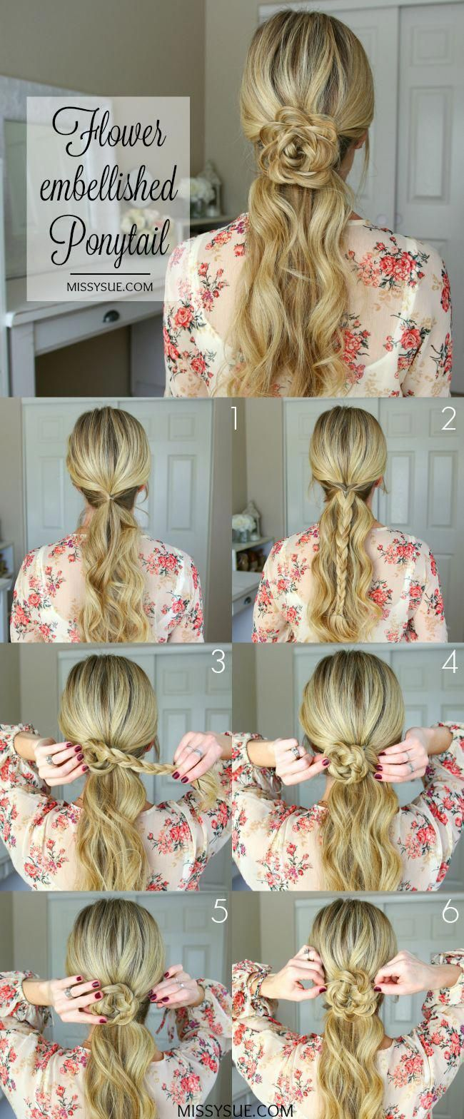 15 easy prom hairstyles for medium to long hair you can ...