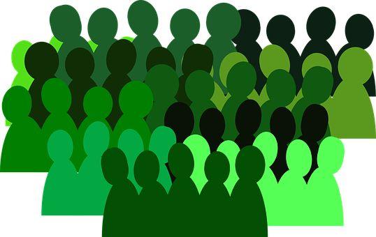 Mennesker, Gruppe, Menneskemængde
