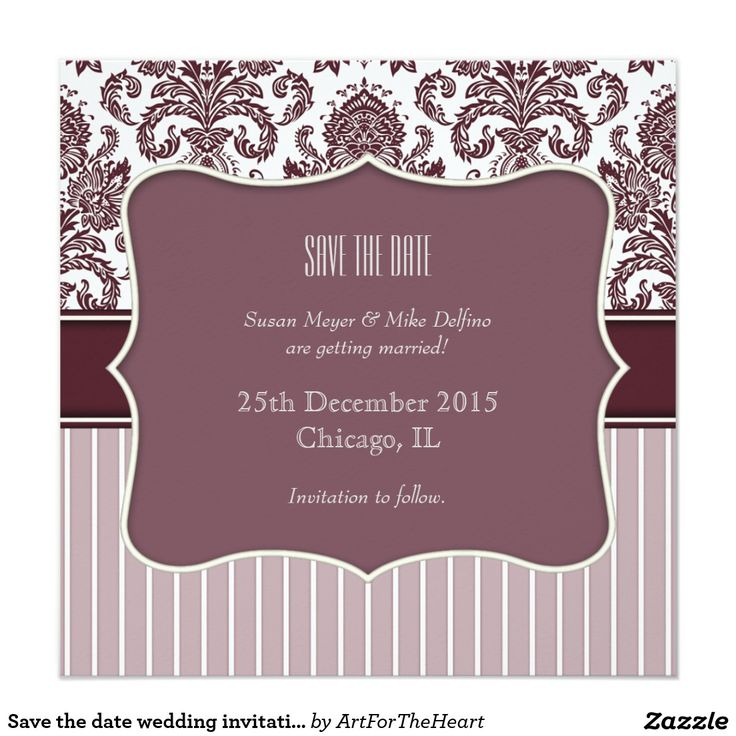 109 best save the date best cards invitations for weddings save the date wedding invitation card purple stopboris Images