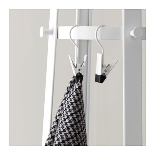ENUDDEN Hanger with clip  - IKEA $2.50 for 2