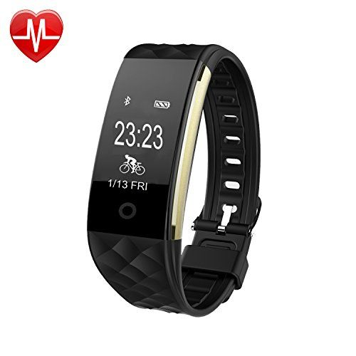 Activity Tracker, AsiaLONG Heart Rate Monitor Fitness Tracker Waterproof Smart Bracelet Pedometer Watch with Sleep Monitor Step Counter SMS/What's APP/Call Vibration for Walking/Running/Cycling Compatible with iOS and android Phone[Upgraded Version]