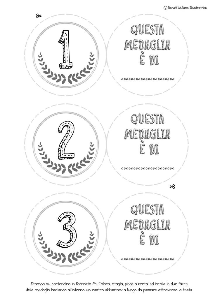 medaglie stampabili gratuitamente: http://www.giocagiocagioca.com/2015/07/giochi-estivi-allaria-aperta-3.html