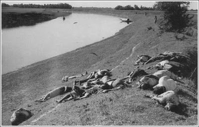 In 1971, West Pakistani soldiers' such mass killings were common in different parts of East Pakistan (later called Bangladesh)