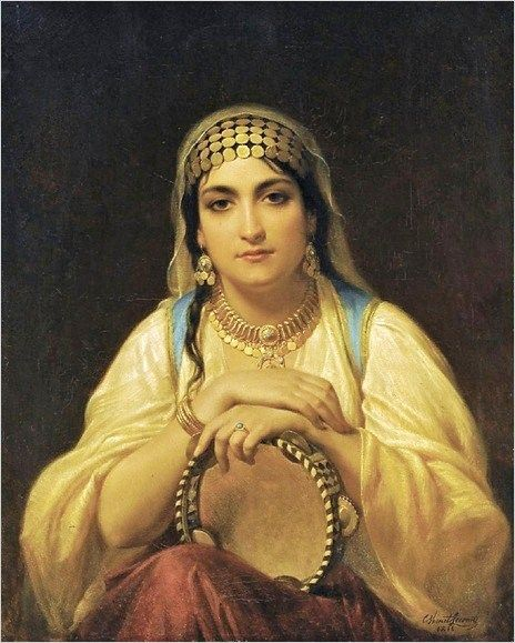 Emile Charles Emile Hippolyte Lecomte-Vernet (French artist, 1821-1900)
