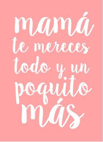 Frases para el Día de La Madre. #FrasesDiaDeLaMadre