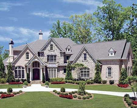 traditional European....very large house!