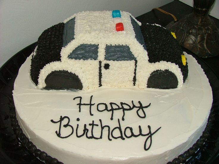 police car cakes pictures | Police Car cake — Children's Birthday Cakes