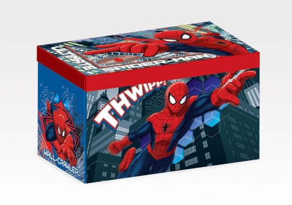 Spider-Man Fabric Toy Box by Delta Children #spider-man #toys