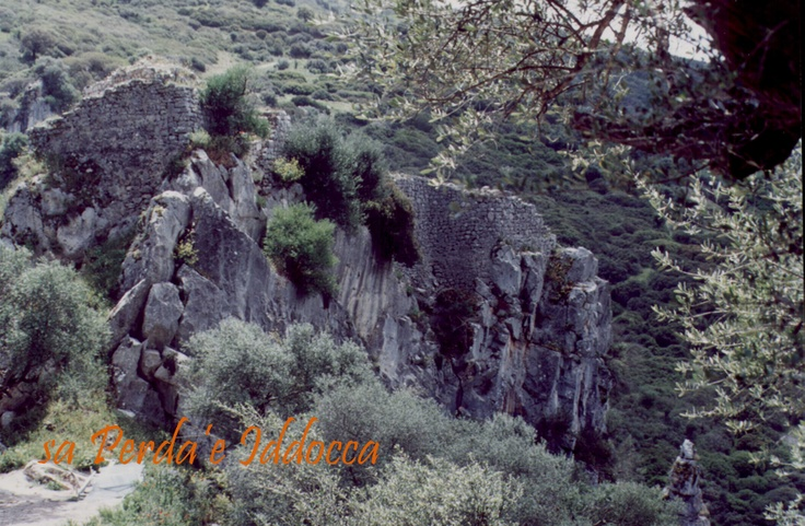 You can see here the Medusa Castle, which is not far from Samugheo.
