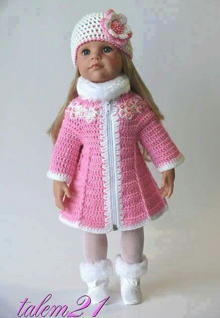 1330 best Crochet Doll Clothes images on Pinterest ...