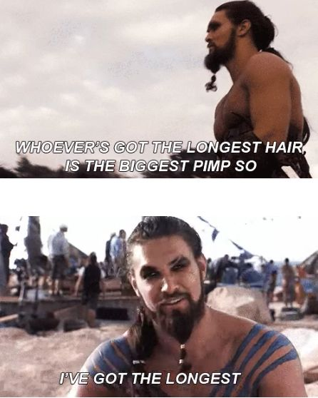 Today we're celebrating the 37th birthday of the manliest man in Hollywood, Jason Momoa! The Aquaman actor first dazzled us as the famed Dothraki warlord Khal Drogo in Game of Thrones — and now it's hard to imagine a world without him.
