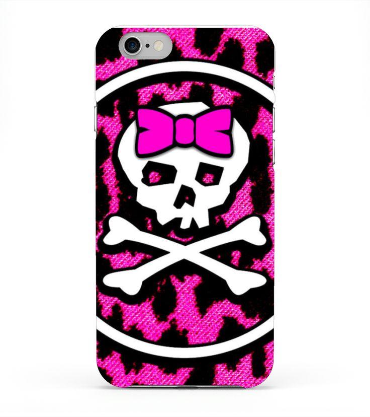 pink skull - telefoon hoesjes  #gift #idea #shirt #image #music #guitar #sing #radio #art #mugs