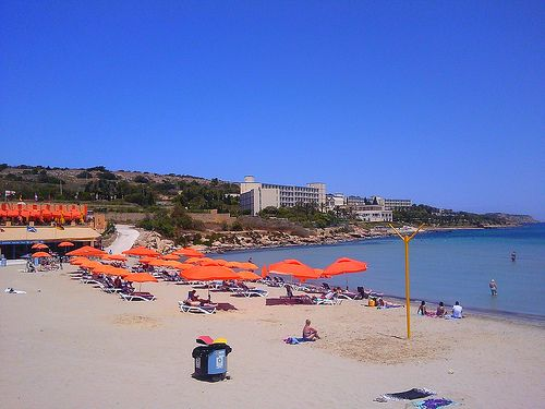 Mellieha Beach #Malta: http://www.europealacarte.co.uk/blog/2011/06/12/malta-beaches/........been there !!