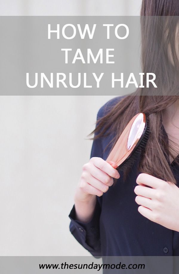 Taming Unruly Hair | www.thesundaymode.com