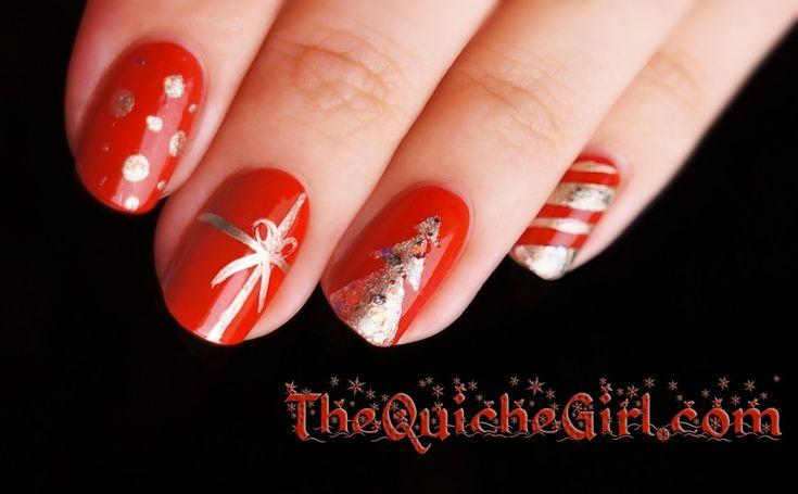 Essie+NCLA // Christmas medley