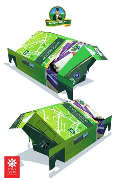 Lapis Green Tea Sangkuriang Packaging
