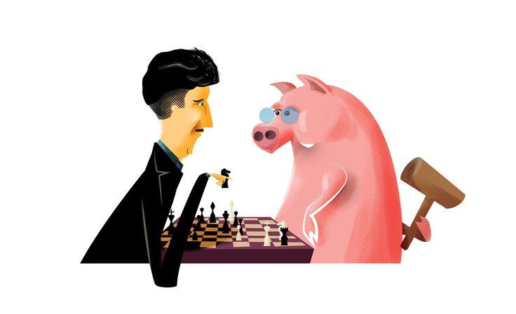 """Orwell y la Granja de Animales ( o """"Rebelión en la granja"""")"""