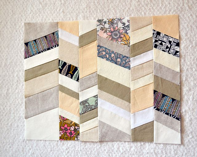 Simple but interesting!: Scrap Quilts, Chevron Quilts, Travel Quilts, Chevron Patterns, Quilts Patterns, Herringbone Quilts, Quilts Inspiration, Round Robins Quilts, Paper Patterns