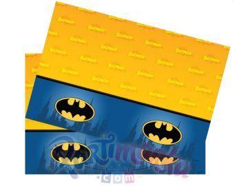 Batman Doğum Günü Masa Örtüsü