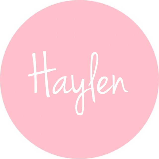 Haylen - cute baby girl name! I like this variation :)
