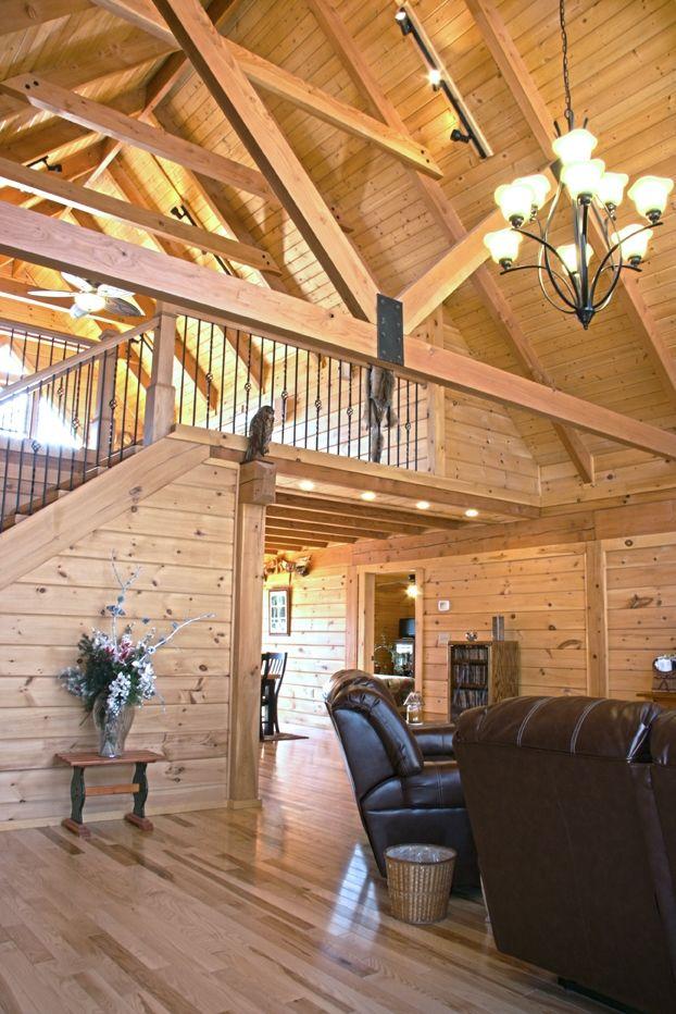 Pin By Sasha Dunavant On Elegant Log Home Corridors And