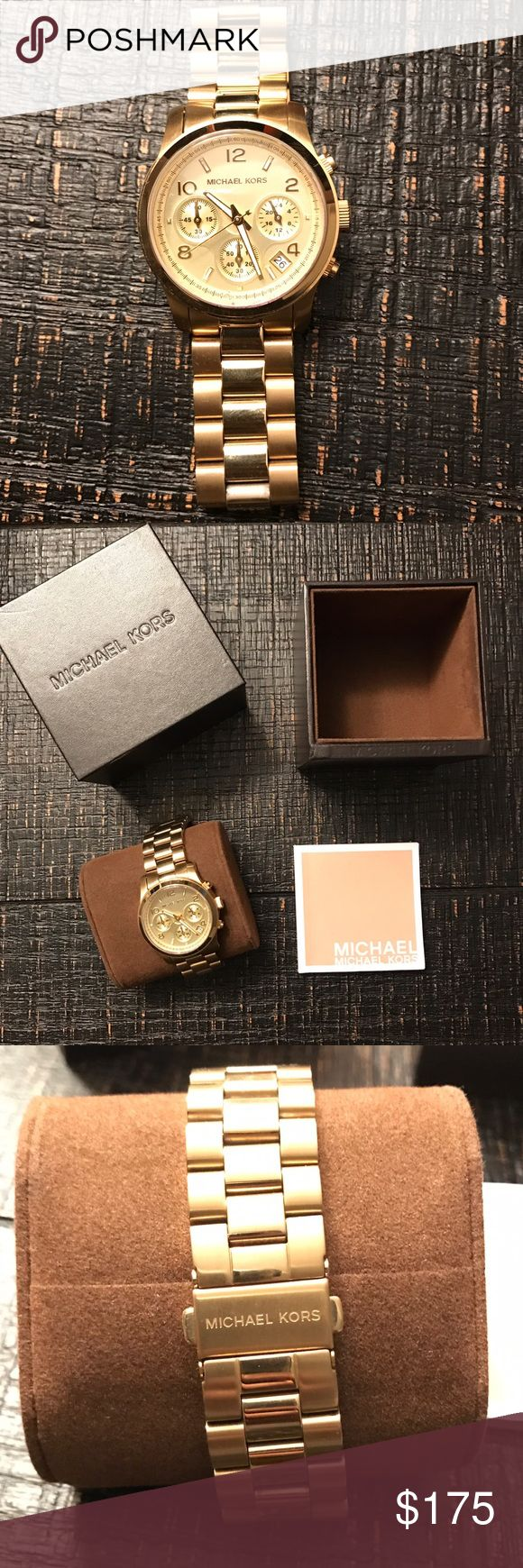 Michael Kors Men's Watch Beautiful all purpose men's Michael Kors Watch -100% Authentic -condition 10/10  - comes from a smoke free home Michael Kors Accessories Jewelry