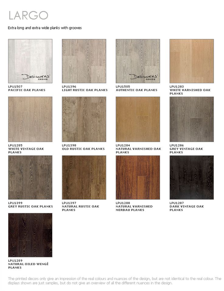 Laminate flooring colour choices gurus floor for Laminate flooring colors