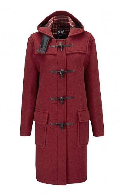 Ladies Gloverall Duffle Coat