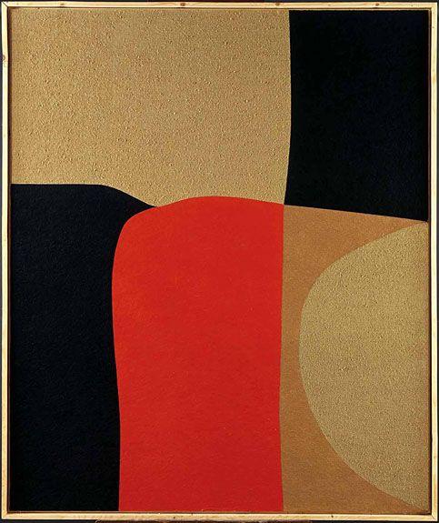 Alberto Burri: Cellotex, 1979
