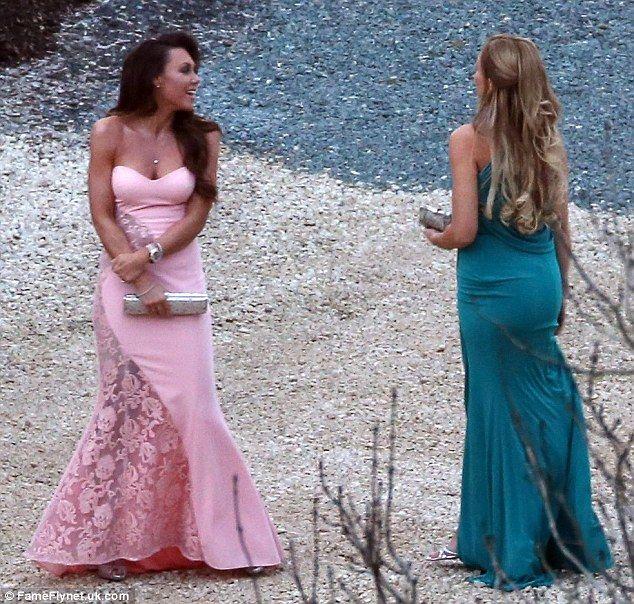 BFFs: Michelle has been Katie's bridesmaid twice to Katie, at her weddings with Alex Reid ...