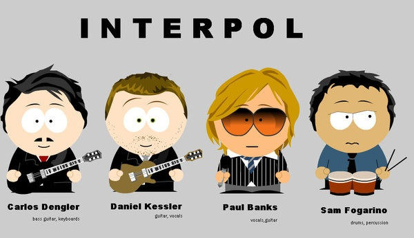 Interpol in South Park