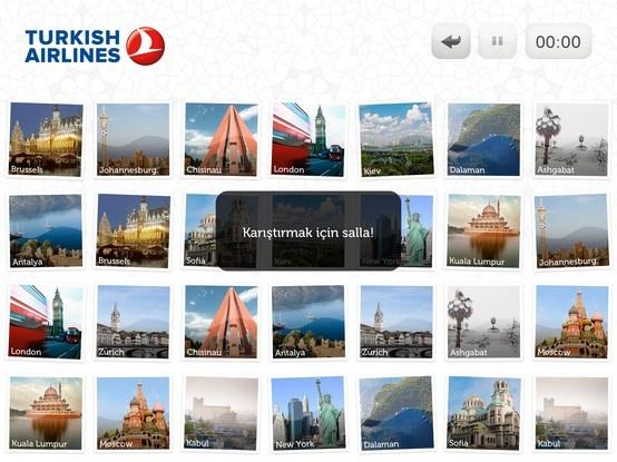 @Turkish Airlines  Destination Pairs iPad App - Turkish iPad Version