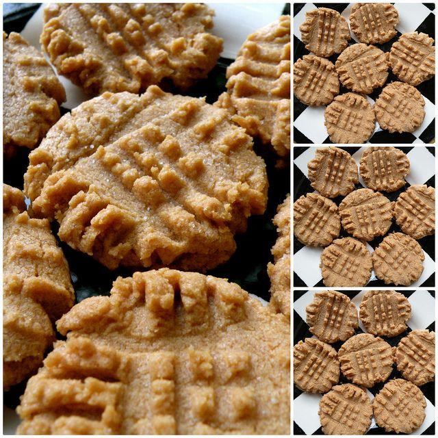 Copycat peanut butter cookies recipe