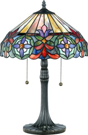 Tiffany lamps---one of my fave home accents                                                                                                                                                     More