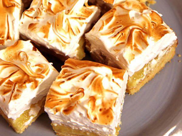 Lemon meringue bars - citron- och marängpaj
