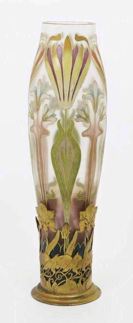 Van Hauten art Nouveau Vase