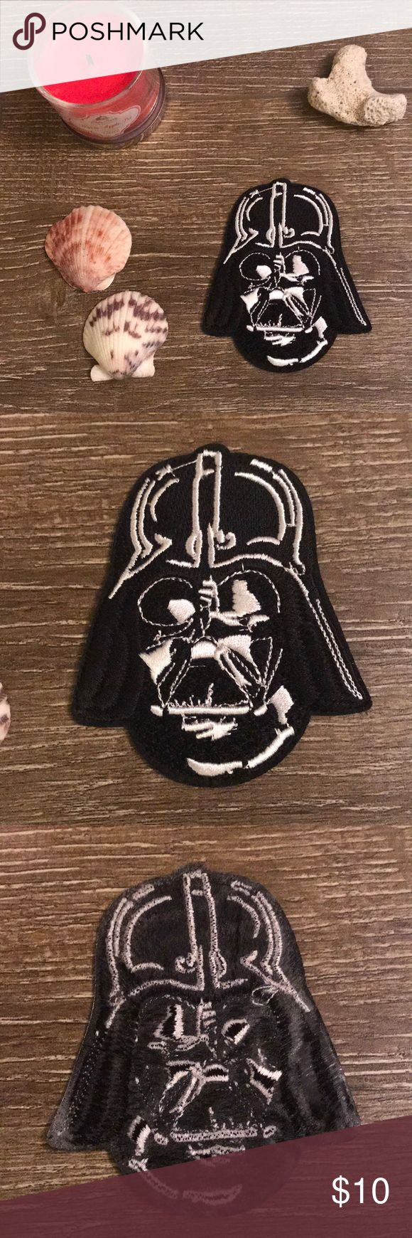 Death Vader iron on patch Brand new iron on patch!  High quality  Listing includes 1 earth Vader patch   Special edition   1 patch=$8 2 patches= $13 4 patches= $20 Accessories