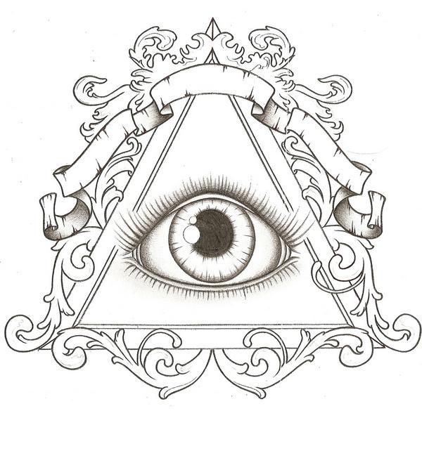 Illuminati tattoo idea