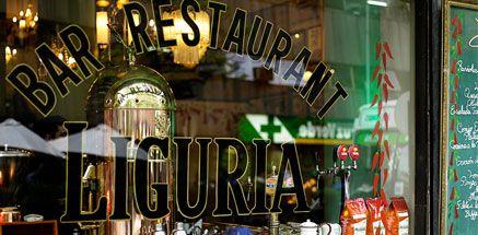 Bar e Restaurante Liguria, em Santiago, Chile. Altamente recomendado como clássico da boemia santiaguina.