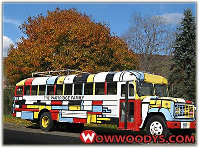 Bluebird1959: From Partridge Family to Dove |Partridge Family Bus Pattern