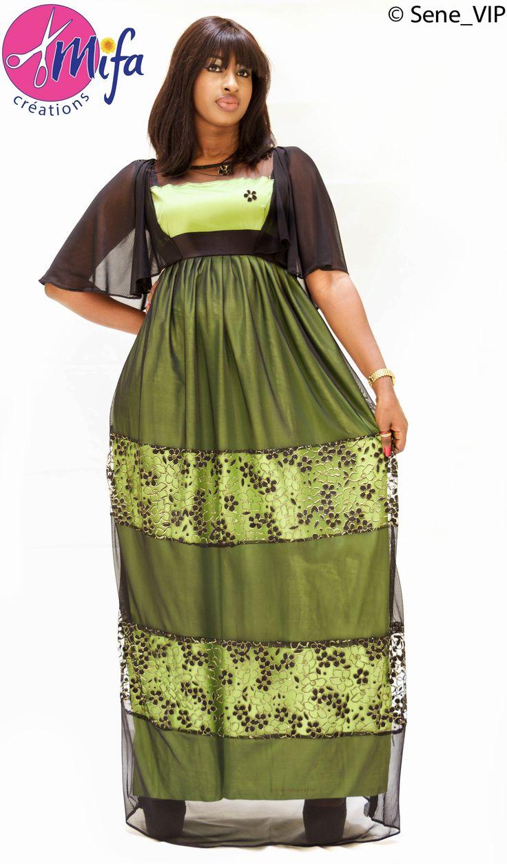 ROBE Fashion sénégalaise à la mode by MF