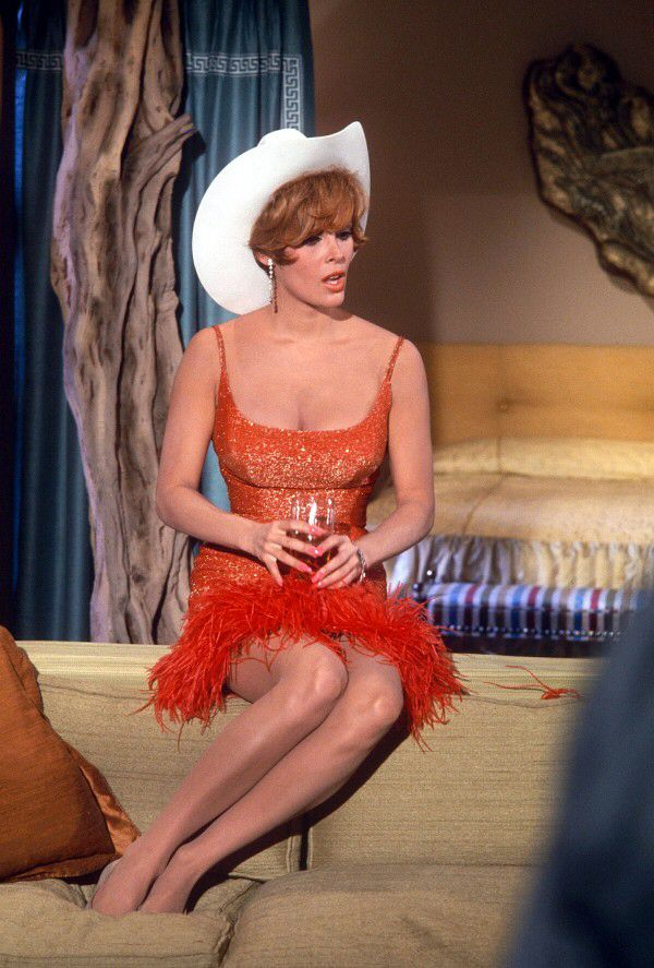 THREE ON A COUCH (1967) - Jerry Lewis - Jill St. John (pictured) - Directed by Jerry Lewis - Columbia Pictures - Publicity Still.