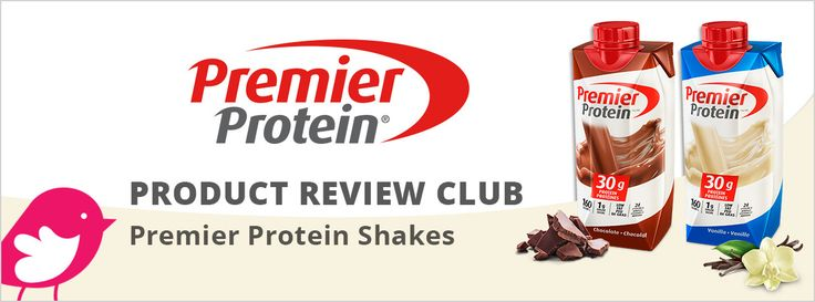 New Product Review Club Offer: Premier Protein Shakes  #tryPremierProtein