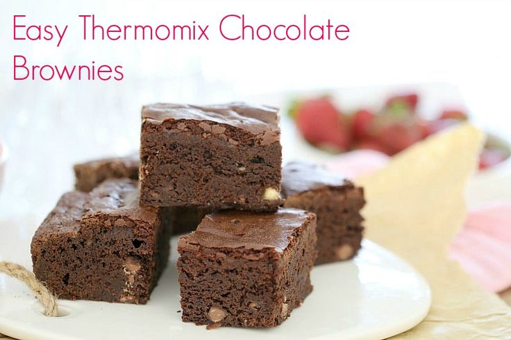 Easy Thermomix Chocolate Brownies