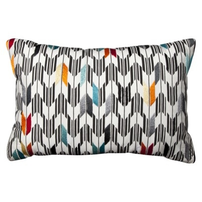 Target Throw Pillows Living Room : Pillow for the living room from target Apartment Pinterest Chevron, Pillows and Target
