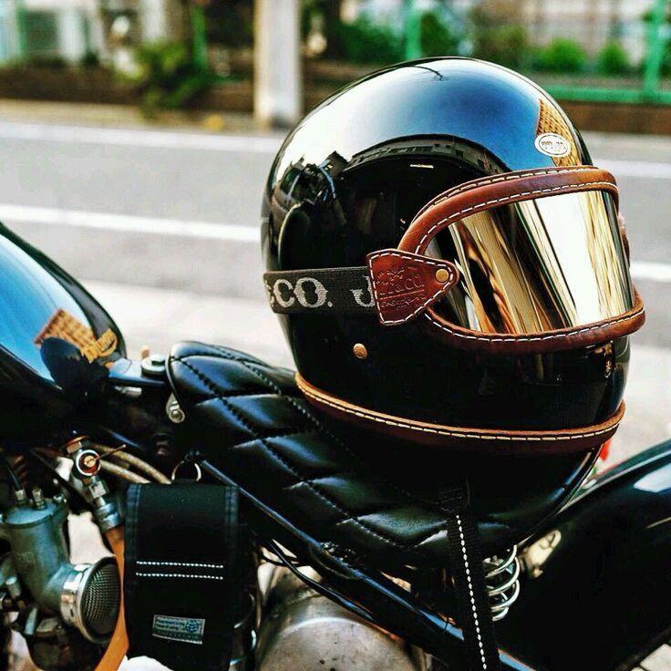 helmet #caferacer discover #motomood