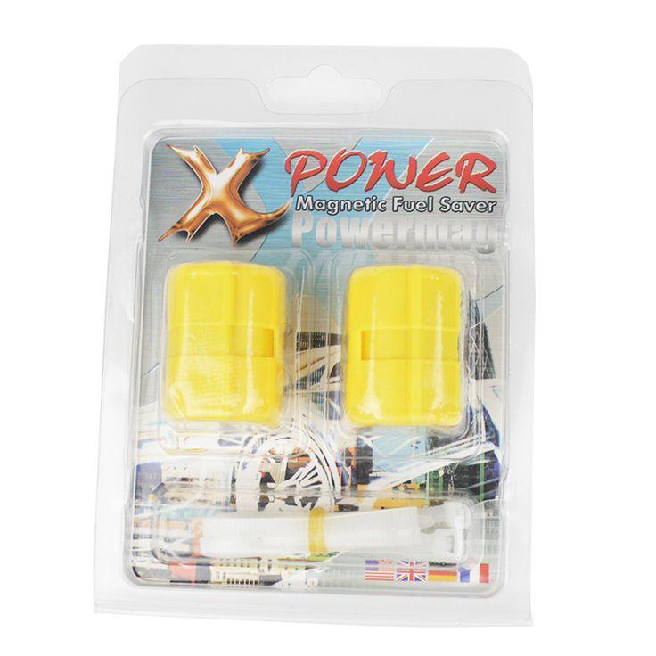 2pcs Magnetic Fuel Saver Car Power Saver XP-2 Vehicle Fuel Saver Protect Engine Gas Oil Fuel Saver Trucks Car Economizer