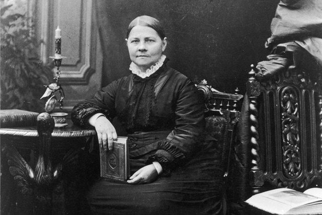 Lucy Stone: An activist for abolition and women's rights, notorious at the time for keeping her own name after marriage in 1855.